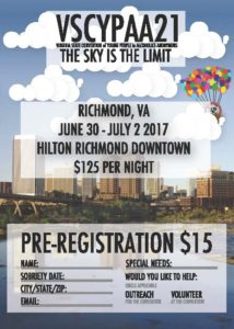 VSCYPAA21...Virginia State Convention of Young People in Alcoholics Anonymous @ Hilton Richmond Downtown | Richmond | Virginia | United States