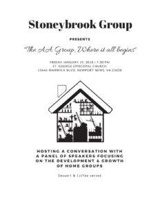 stoneybrook-workshop • Tidewater Intergroup Council