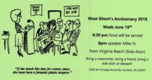 West Ghent - 39th Anniversary Dinner @ St. Andrews Episcopal Church | Norfolk | Virginia | United States