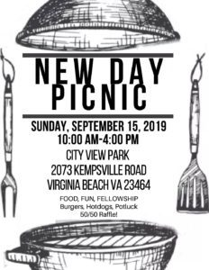 New Day Group Picnic @ City View Park | Virginia Beach | Virginia | United States