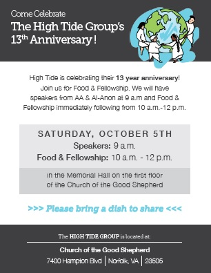 High Tide Group's 13th Anniversary @ Church of the Good Shepherd   Norfolk   Virginia   United States